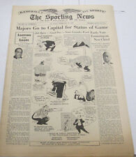The Sporting News Newspaper  Foxx Homerun Slugger Februry 1945  101014lm-eB2
