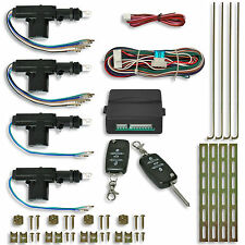 KIT CENTRALISATION A TELECOMMANDE PLUG AND PLAY UNIVERSEL + 4 MOTEURS