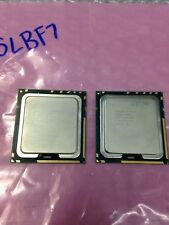 LOT OF 2 WORKING INTEL XEON E5530 SLBF7 2.40GHZ/8M/5.86 CPU Matched Pair