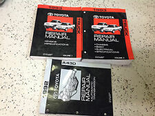 1993 Toyota Truck PICK UP Service Repair Shop Manual Set W Transmission Book x