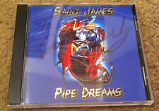 Saint James (Gurley) - Pipe Dreams [SIGNED] (Big Brother & The Holding Company)
