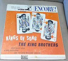 Kings of Song The King Brothers Rock'n'Roll Excellent Vinyl Record LP ENC 106