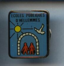 RARE PINS PIN'S .. ANIMAL PIGEON COLOMBE HELLEMES ECOLE 59 ~1A