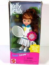 NIB BARBIE DOLL 1999 TENNIS LORENA KELLY CLUB