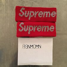 Supreme x New Era Headband Red Brand New Authentic