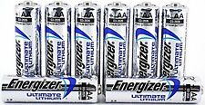 SHRINK Pack di 8x AA Energizer ultimate lithium BATTERIE LR6, L91 MN1500 1.5 V