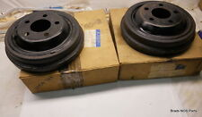 NOS Mopar 1966-1970 Plymouth Satellite Dodge Coronet Charger rear BRAKE DRUMS 10