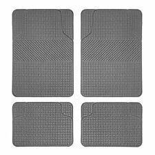 Details about  Auto 4pcs Floor Mats For Sedan SUV Heavy Duty All Weather Beige