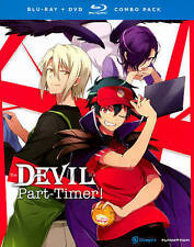 The Devil Is a Part-Timer! (Blu-ray/DVD, 2014, 4-Disc Set)