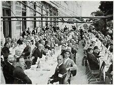 D1389 Croatia - Zadar - Zara - Gitanti a pranzo - Stampa antica - 1928 old print