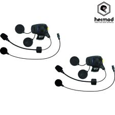 Sena SMH5 Fm Doble Bluetooth Intercomunicador Kit De Casco De Motocicleta-Universal-X2