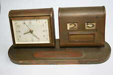 Old EUROPA 7 Jewels FOREIGN Alarm Clock - Working