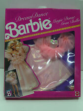 VINTAGE BARBIE 1989 DREAM DANCE FASHION DRESS MOC CLOTHES #7394