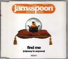 Jam & Spoon - Find Me (Odyssey To Anyoona) - CDM - 1995 - Eurodance Trance