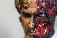 Custom 1:6 SCALE The Dark Knight Harvey Dent  Two Face Head Sculpt,In stock!