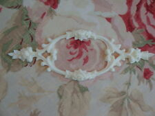 Shabby & Chic Rose Scroll Center Furniture Applique Architectural Onlay Trim