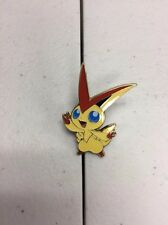 Victini EX XY117 - PIN ONLY - PROMO Mythical Collection Pokemon Figure Toy