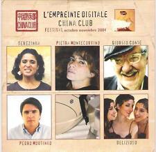 """PIETRA MONTECORVINO  GIORGIO CONTE - CD PROMO FRANCIA """" EMPREINTE DIGITALE """""""