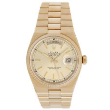 Rolex Oysterquartz President Day-Date Men's Gold Quartz Watch 19018