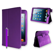 PU Leather Book Case Cover For Apple iPad 2/3/4 Air Mini Screen Protector Stylus