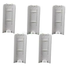 New Lot50 Battery Back Door Shell Cover for Nintendo Wii Remote Controller White