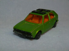 Matchbox Lesney Superfast No 7 Volkswagen VW Golf GREEN
