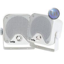 NEW Outdoor Marine Speakers AXIS 50Watt 2-Way Quality