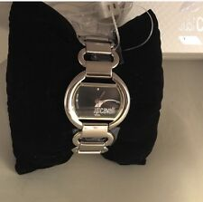 Just Cavalli Time Ladies Silver Tone Watch NIB