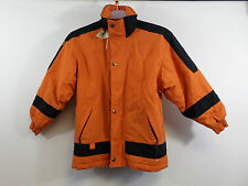 Manbi Junior Ski Jacket Orange Size M rrp £60 Box3425 I
