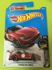 Hotwheels 8/10 night burnerz 15 Mazda MX-5 Miata  MISB