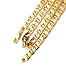 "Men's/Women's Necklace 8MM Stud Chain 18k Yellow Gold Filled 24""Link GF Jewelry"