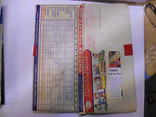 usa etats unis ancienne carte routiere ESSO road map 1959
