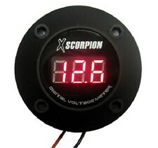 XSCORPION DIGITAL 12V VOLT LED CAR VOLTAGE METER DVM3R