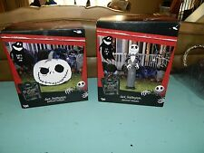 Lot of 2 The Nightmare Before Christmas Airblown Inflatables Jack Gemmy NEW!!