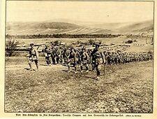 1915 Karpathen * Deutsche Truppen auf Vormarsch im Laborcza-Tal *  WW1