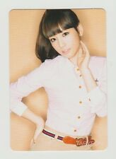 "SNSD GIRLS' GENERATION ""Gee ""  Japan Official Photo Card TAEYEON NEW  F/S"