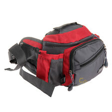 Nylon Fishing Cycling Waist Pack Bum Belt Bag Pouch Travel Hip Purse Mens