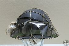 1953 British MKIV Turtle Shell Helmet chinstrap net bandage eyeshields Set E2600