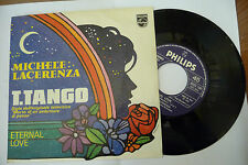 "MICHELE LACERENZA""T.TANGO-disco 45 giri PHILIPS It 1978"" SIGLA TV RARO"