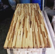 """Forever Joint Hickory Butcher Block Top 1-1/2""""x26""""x60"""" Kitchen Cutting Board"""