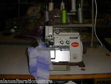 BROTHER FULLY SERVICED 4 THREAD OVERLOCKER INDUSTRIAL SEWING MACHINE
