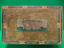 White House Perfecto Sweets Vintage Cigar Box 5 Cents 50 count box Tobacco RARE