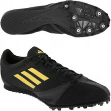 adidas Mens Boys Arriba 3 M Track & Field Shoes 4.5 Black Gold NEW 4 1/2 $99