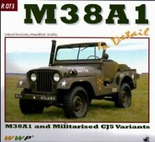 M38A1 Jeeps in Detail No 73 by Frantisek Koran. Willys jeep WW2 army