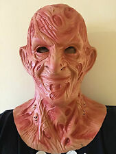 Burnt Man Horror Halloween Mask Fancy Dress Movie Costume Latex Nightmare Masks
