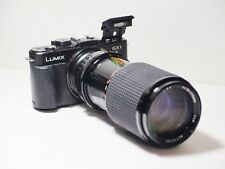 70-210mm= lens 140-420mm on LUMIX G HD 4K Micro 4/3 Digital PEN OMD G3 G5 G6 GM1