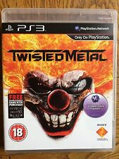Twisted Metal (unsealed - TM Black DLC Expired) - PS3 New!
