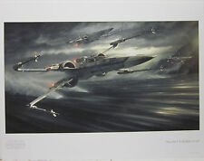 Incom T-70 by Jerry Vanderslelt Star Wars Limited Edition Numbered Print 5/150