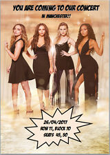 Little Mix Concert Tickets Seats Present Birthday Card Personalised Any Wording