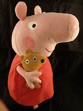 TY PEPPA PIG BUDDY  - SOFT PLUSH TOY  12 INCHES (30CM) GENUINE TY ITEM UK SELLER